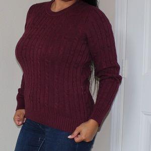 Croft & Barrow Knit sweater Size S BB